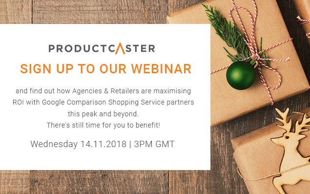 Webinar: How to Maximise Google Shopping ROI This Peak and Beyond