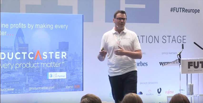 FeedManager auf der Innovation Stage bei der FUTR Europe 2019